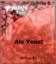 Young's Ale Yeast Sachet 5grm (Up to 5gall)